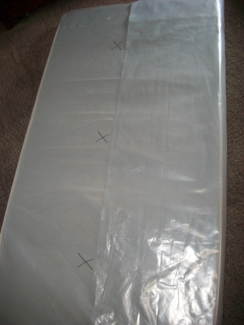 How To Wrap A Twin Mattress
